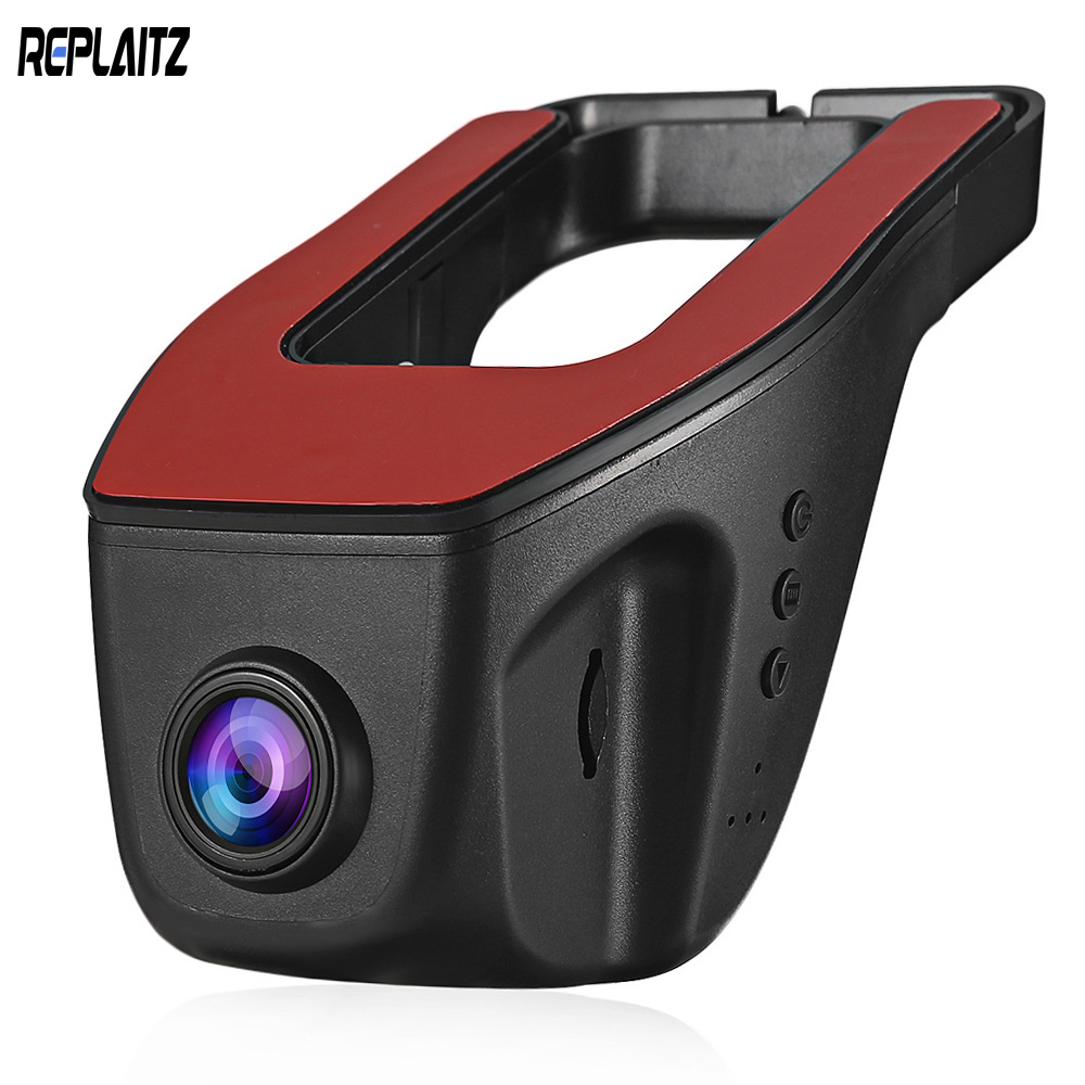 New Arrival Replaitz RS300 Car DVR Dash Cam WiFi 1080P Novatek 96658 Registrator Camera Night Vision WDR Digital Video Recorder podofo wifi car dvr registrator digital video recorder camcorder dash camera 1080p night version novatek 96658 dash cam app