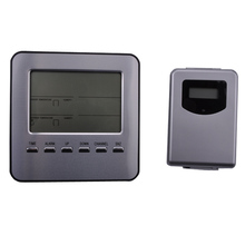 Cheaper Indoor and outdoor temperature and humidity, digital weather station, electronic temperature and humidity, free shipping