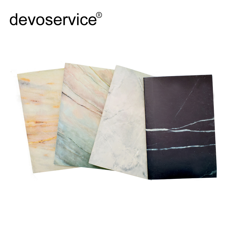 A5 60 Pages Marble Designs Soft Cover Notebook Traveler's Journal Planners Lines Composition Diary Book Japan Stiching Binding