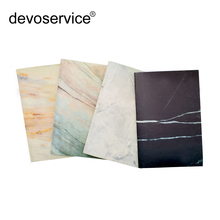 A5 60 Pages Marble Designs Soft Cover Notebook Travelers Journal Planners Lines Composition Diary Book Japan Stiching Binding