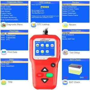 Image 5 - 100% Original OBD2 Scanner Automotive Scanner KONNWEI KW680 OBD 2 EOBD Car Diagnostic Scanner Fault Error Code Reader Scan Tool