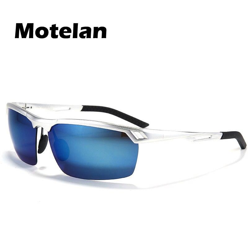 0ed4160e11084 Revestimento dos homens de alumínio e magnésio polarizada óculos de sol dos  homens anti-reflexo moda UV400 óculos de sol óculos de condução automóvel  9550