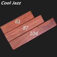 Cool Jazz accoudoir en bois massif GH60, support 60% pour clavier mécanique Poker2 87, mini pour clavier, repose poignet avec pad