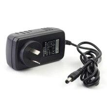 12 V 2A Ac AU adaptador de fuente de alimentación para V8 combo V8 pro V8 súper V8 receptor de satélite Australia enchufe adaptador