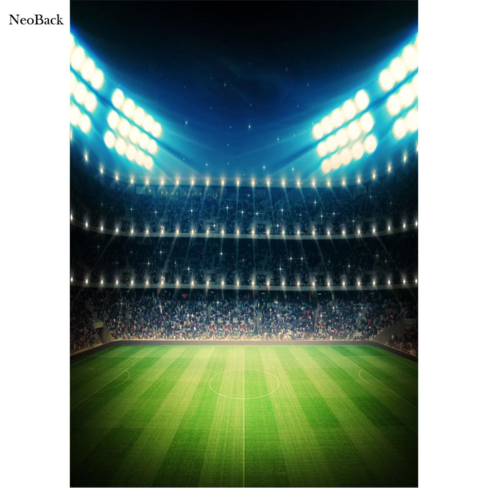 NeoBack 5x7ft Thin Vinyl American Super Ball Sports Event