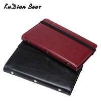 KUDIAN BEAR 120 cartes portefeuille Porte-cartes de visite Carte de crédit couverture sacs voyage Carte organisateur sacs Porte Carte BIH098 PM49