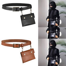 NEW Leather Fanny Pack- Mens Waist Belt Bag -Womens Purse Hip Pouch Travel Sash Bag(China)
