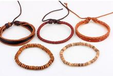 Bohemian Wood Beads Bracelet For Men