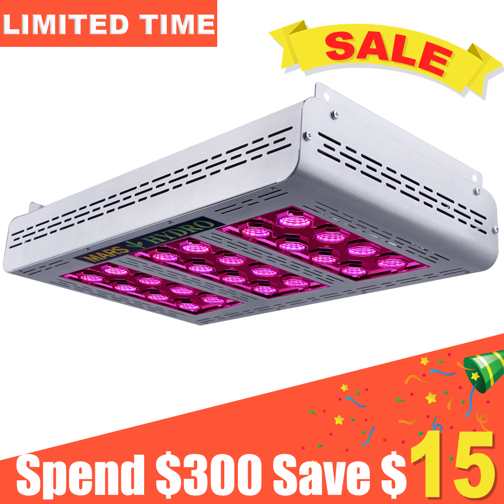 Mars ProII Epistar 600W LED Grow Light Full Spectrum Grow Light Hydroponics 257W