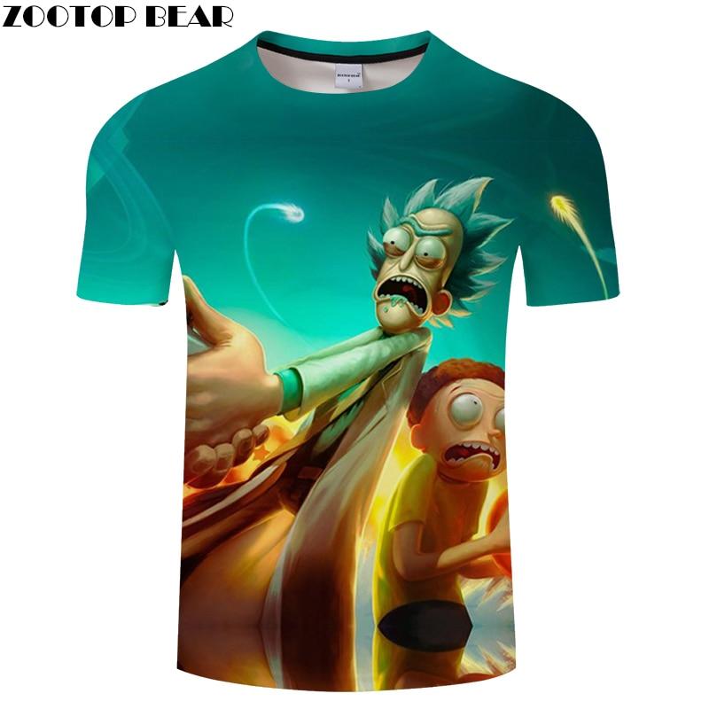 3D MEN Scared Boys Tee Short Sleeve tshirt Cartoon t shirt Funny Casual Summer t-shirt Round Neck Top ZOOTOP BEAR Brand