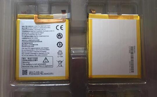 original 2017 3.8V 2500mAh Li3825T43P3h736037 For ZTE BV0720 / ZTE Blade A2 / ZTE Blade V7 Lite Dual SIM Battery
