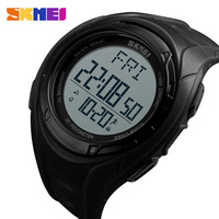 SKMEI Men Sports Watches Luxury Outdoor Pedometer Watch Casual Military Man Dual Time Display Wristwatches 1315
