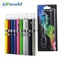 Цветной дым электронная сигарета Эго starter kit MT3 evod распылитель комплекты Электронной сигареты Пара mt3 танк Evod батареи блистер случае Clearomizer 10YY