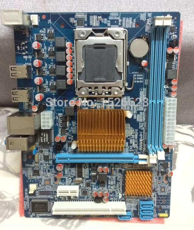 100% new desktop motherboard X58 DDR3 LGA 1366 I3 I5 I7 boards  mainboard free shipping