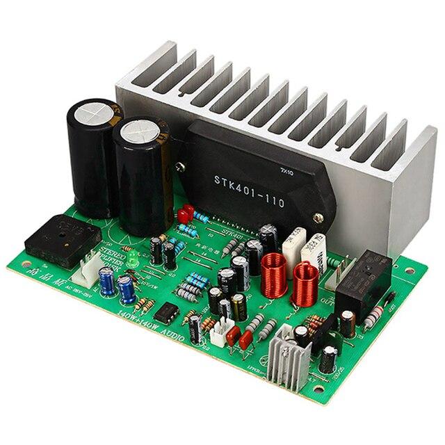 Stk401 Audio Amplifier Board Hifi 2.0 Channel 140W2 Power Amplifier Board Ac24 28V Home Audio Beyond 7294/3888 T0342