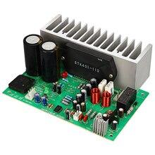 Stk401 ses amplifikatörü kurulu Hifi 2.0 kanal 140W2 güç amplifikatörü kurulu Ac24 28V ev ses ötesinde 7294/3888 T0342