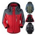 Зима Толстая Куртка осень мужчины куртку мужской моды Ветровка jaqueta пальто для мужчин туризм Верхняя Одежда куртки waterp