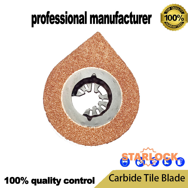 OSL234HG Starlock Diamomd Tile Removal Oscillating Tool Accessory Blade Cement And Tile Use Tools Fein Starlock Saw Blade