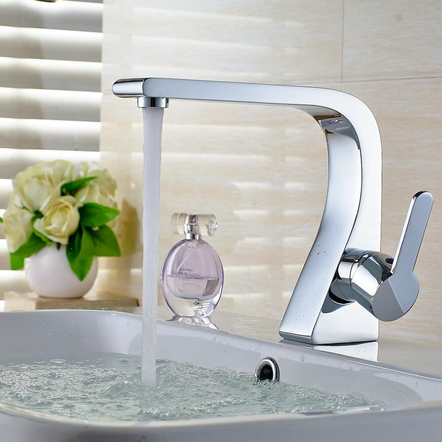 new arrival top high quality brass single lever hot and cold chrome bathroom basin faucet bathroom sink faucet bathroom faucet st luce sl801 sl801 603 05