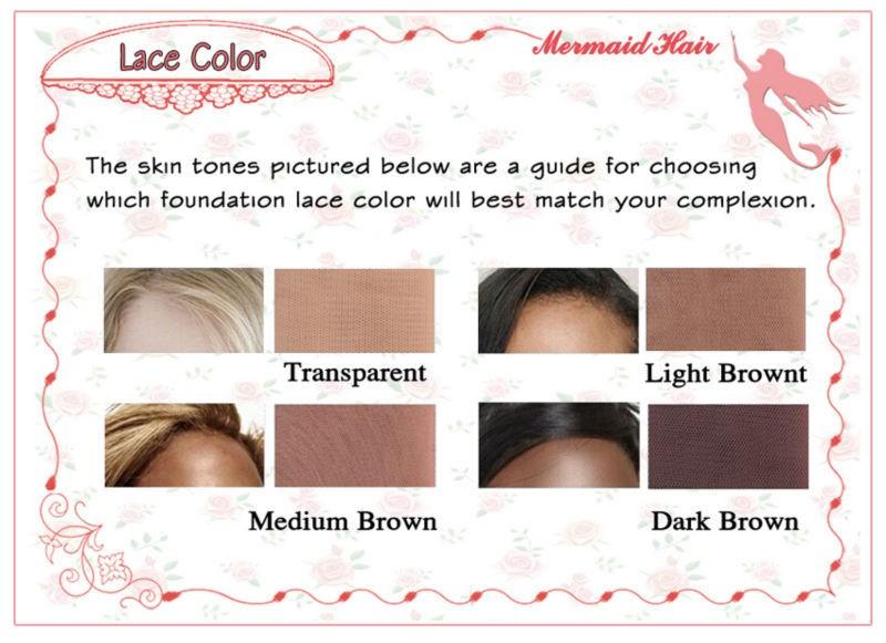 wig-lace color