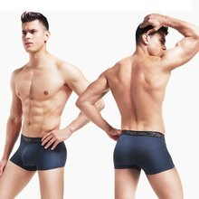 High Quality Breathable Elastic Men Underpants Soft Pure Natural Nylon Panties Brief Male Underwear Boxer Lingerie