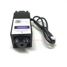 2500 мвт 450нм фокусировка синий фиолетовый лазерный модуль гравировки, 2,5 Вт лазерная трубка диод hx2.54 2p порт+ Защитные googles