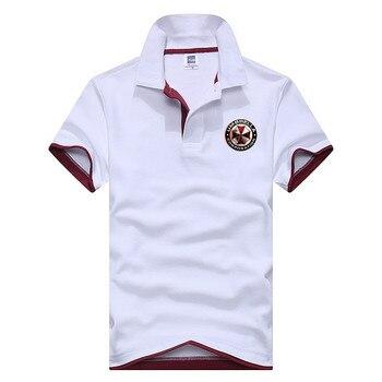 219c6c33a5179 Nuevo Polo para hombre Camisa de algodón de manga corta camisetas deportivas  Golftennis talla grande M-3XL Camisa Polos Homme