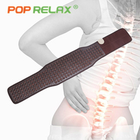 POP RELAX Korea germanium stone belt back waist pain relief electric thermal tourmaline physiotherapy anion health care foot mat