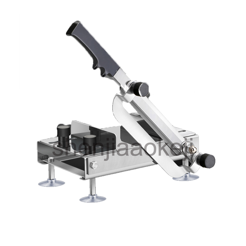 meat Slicer Ginseng Slicing Machine Antler Stainless steel Chinese herbal slicing machine Manual food Cutting Machine 1pc free shipping ht 4 commercial manual tomato slicer onion slicing cutter machine vegetable cutting machine