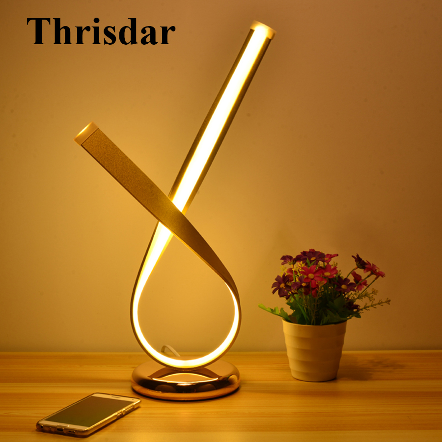Thrisdar Cross Shape Creative Art Table Lamps Romantic Bedroom Bedside Table Desk Lamp office Living Study Room Table Light office table decoration led desk lamp nightlights bedside room sitting room heart shape feather crystal table lamp