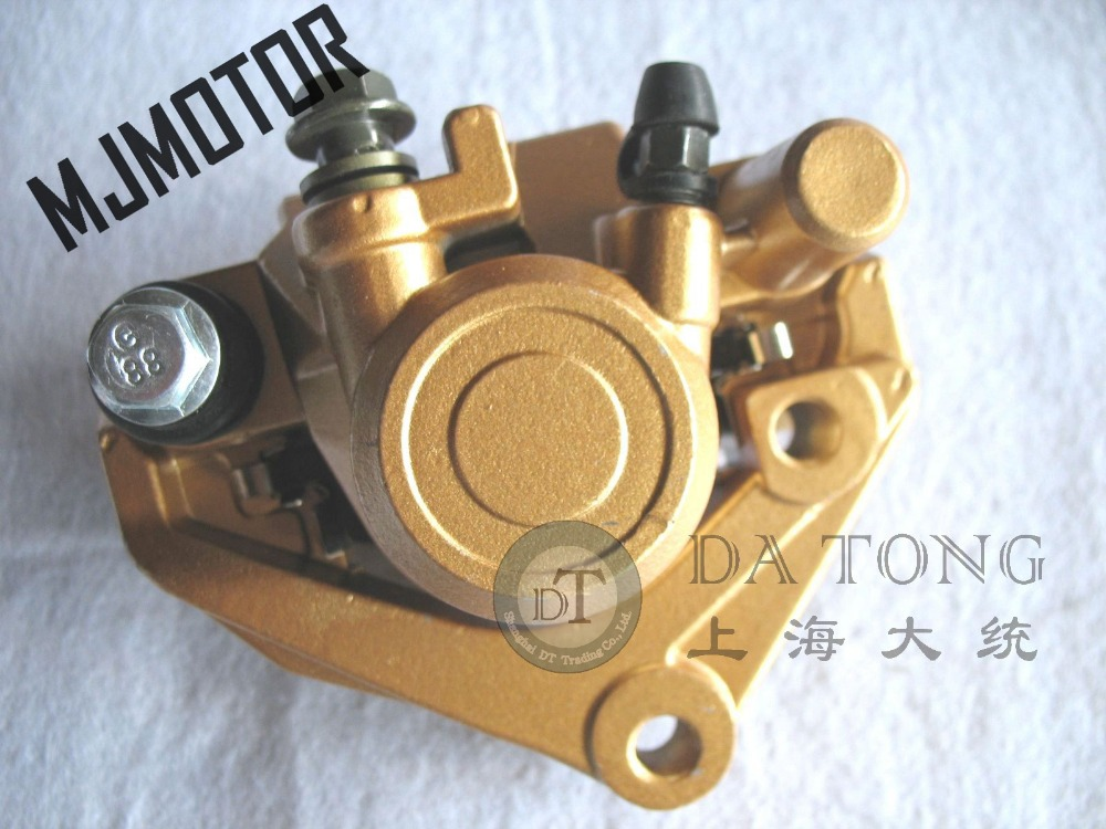 Front Disc Hydraulic Brake Caliper for ZY 125cc Chinese Scooter Honda Yamaha Kawasaki Motorcycle ATV Moped Spare Parts starpad for atv for former bulls great big dinosaur 1 trailer 2 brake hydraulic disc brake assembly one with two double disc