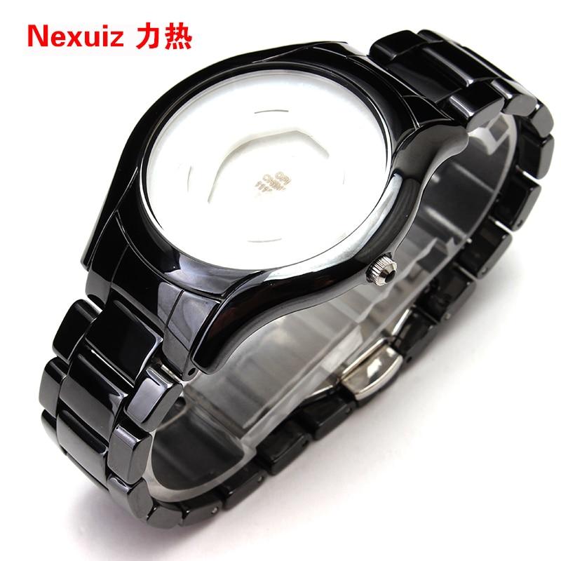 NEW Watchbands 22mm,High Quality Ceramic Watchband black Diamond Watch for AR1440 watche Bracelet watch accessories rga r 981 sports watche black