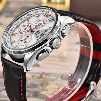 PAGANI DESIGN Top Luxury Brands Fashion Casual Men Quartz Watch Business Military Watches Leather Men\'s Clocks Relogio Masculino