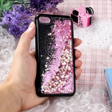 For Iphone 7 Case Coque For Apple iPhone XR X XS Max SE 5 5S 5G 55S 6C 7 Plus Case Silicone Soft Black Liquid Quicksand Cover inonler зеленый iphone 55s