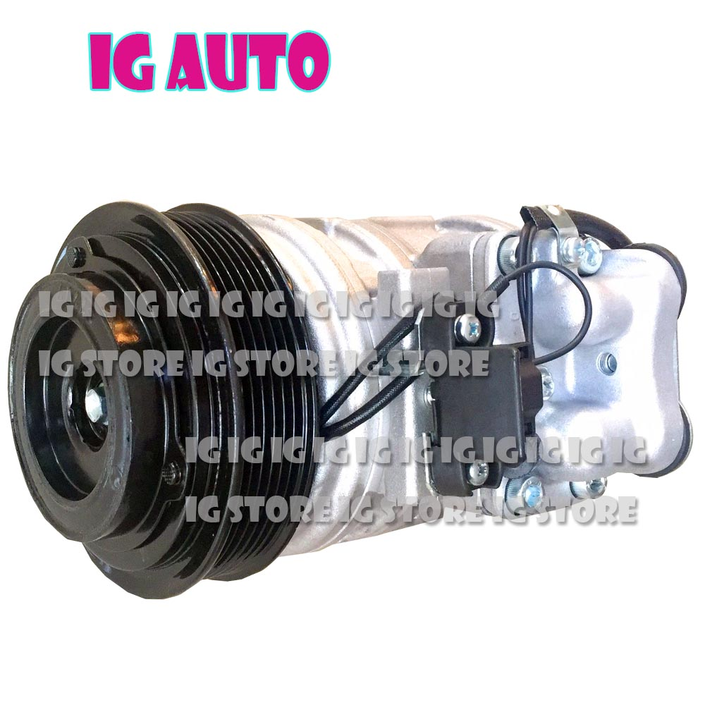 For Volvo FE FL For Iveco Trakker Air Conditioner Compressor 0002340611 0031317001 0031319500 002301211 1021300115 147200 1384-in Air-conditioning Installation from Automobiles & Motorcycles on HAPPY TOURING AUTOMATIC PARTS IG Store