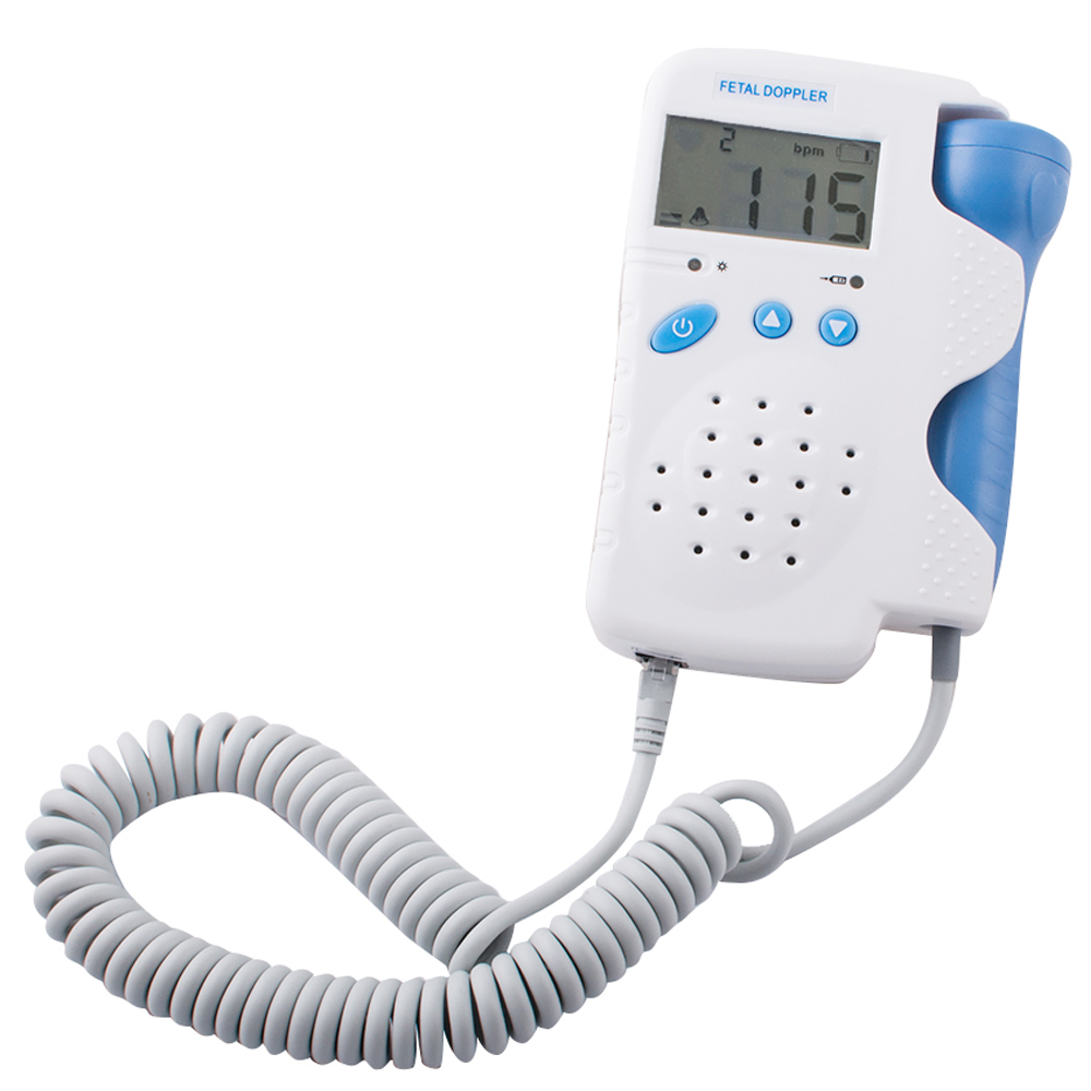 New Arrival and 100 Quality Guaranteed Fetal Doppler 3MHz with LCD Display Free Shipping