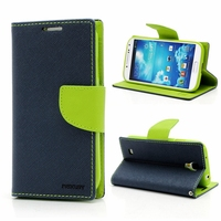 1pcs Lot Goospery Series Cute Case For Samsung Galaxy S4 S IV I9500 Luxury Wallet Stand