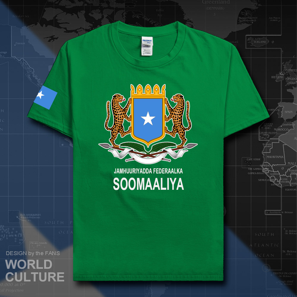 Somalia Somali t shirt fashion 2018 jerseys nation team 100% cotton t-shirt clothing tees country sporting Soomaaliya SOM SO 20
