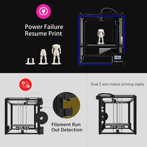 Image 5 - Tronxy X5SA 400 3D Printer DIY Kit Support Auto Leveling Resume Printing Filament Run Out Detection 400*400*400mm 8GB TF Card