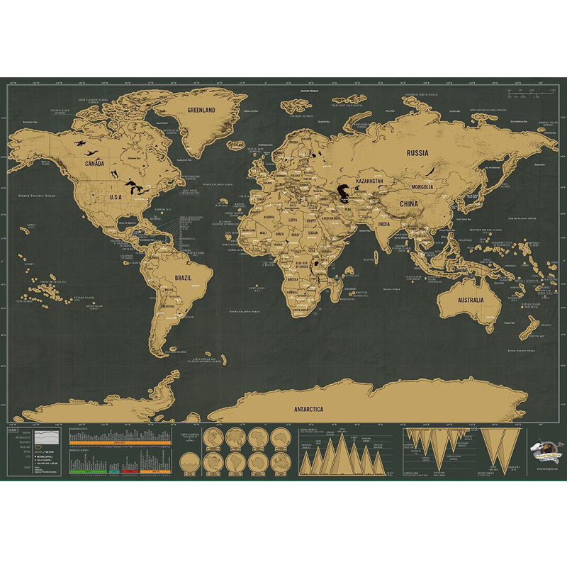 New deluxe travel edition scratch off world map poster personalized new deluxe travel edition scratch off world map poster personalized journal geographic retro maps 423x30cm in board games from sports entertainment on gumiabroncs Images