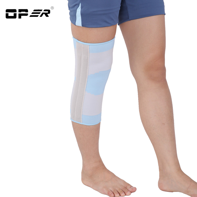 OPER Medical Knee Orthosis Support Brace kneecap Joint belt Knee pads Relief Pain Stabiliser Meniscus Injury Soften Patellar 1pair health care knee brace support therapy compression sleeves for arthritis meniscus tear acl pain relief injury recovery