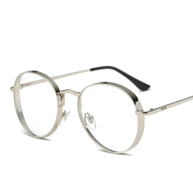 Vazrobe Óculos Mulheres homens pequenos pontos Óculos com Lente Clara lerdo  armações de óculos redondos feminino 72306b2c8a