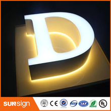 NEW ARRIVAL acrylic mini led metal sign letter