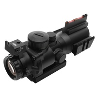 Outdoor Prism 4X32 High Definition Shockproof Optical Sight Finder Monocular Telescope Sniper Hunting Lense Accessories