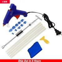 2 In 1 Slide Hammer Dent Puller Kit Car Paintless Dent Repair Hail Removal Kit PDR