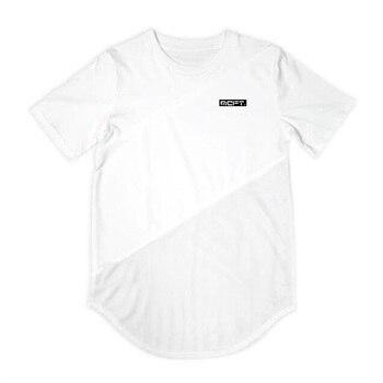 New 2019 extend hip hop street  short sleeve oversize t-shirt 1