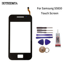 цена на s5830 Touch Screen Panel For Samsung Galaxy Ace S5830 S580i GT-S5830 GT-S5830i Touchscreen Sensor Digitizer Front Glass Tools