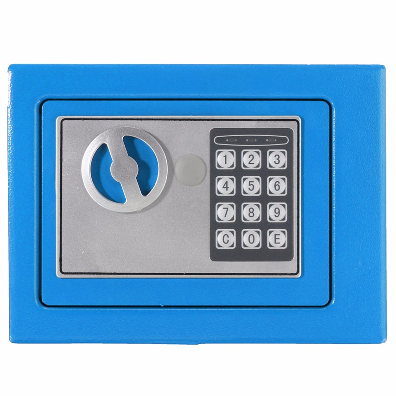 Electronic Digital Steel Safe Box Digital Security Keypad Lock Home Office Hotel Personal Keep Money Cash Box Top Quality free shipping mini portable steel petty lock cash safe box for home school office market lockable coin security box