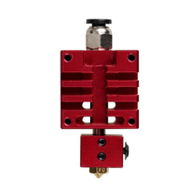 Design for High Quality Improved Version All metal Hotend Kit Red Color 0.4mm/1.75mm Single Nozzle for 3D Printer