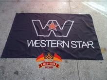 Western Star Trucks Racing flag, Best Nitro ,Electric RC Cars banner, Trucks, Buggy 100% polyster 90*150 CM flag,flag king